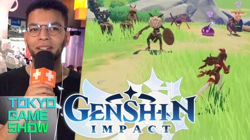 TGS 2019 : Rudy a joué à Genshin Impact, le clone chinois de Zelda Breath of the Wild sur PS4