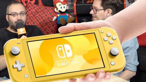 Premier unboxing et première prise en mains : La rédac' découvre la Nintendo Switch Lite