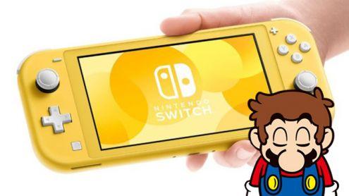 Nintendo Switch Lite : Nintendo a bien modifié la technologie de ses joysticks