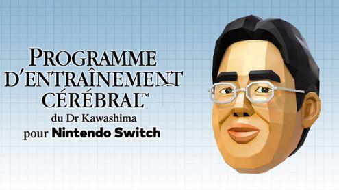 Nintendo Switch : Le Programme d'Entraînement Cérébral du Dr Kawashima arrive en Europe
