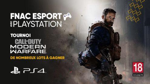 La Fnac à l'heure de l'eSport : Défiez-vous sur Call of Duty Modern Warfare et gagnez une PS4 !