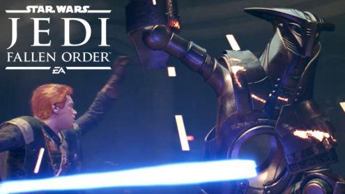Star Wars Jedi Fallen Order : On y a joué, un joli tour de Force ? Nos impressions !