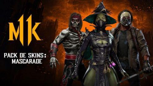Mortal Kombat 11 se met à l'heure d'Halloween avec l'événement Mascarade gratuit