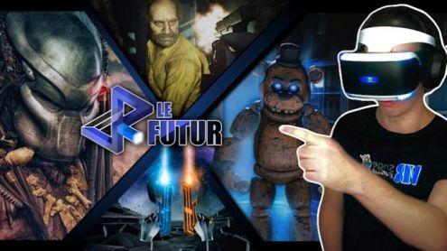 VR Le Futur #65 : Illucity à Marseille, RE7, Predator, Warzone... + toute l'actu de la semaine