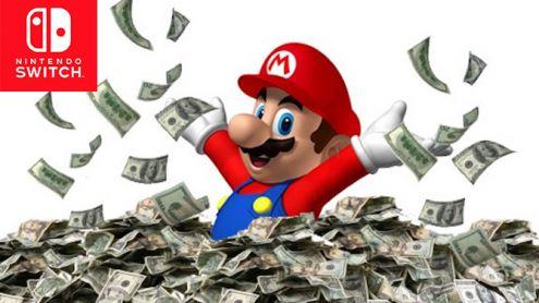 Nintendo Switch : Un cap passé en Amérique du Nord, les chiffres PS4, Wii et 360 au même stade