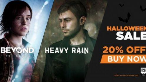 Beyond Two Souls et Heavy Rain soldés sur l'Epic Games Store