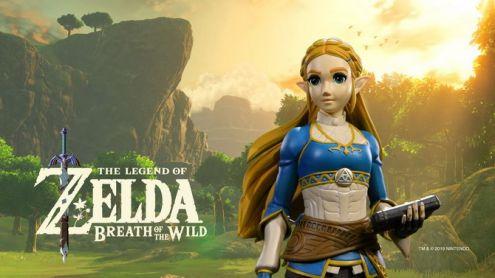 Zelda Breath of the Wild : La statuette de Zelda First 4 Figures bientôt en précommande