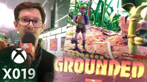X019 : Plume s'est fait tout petit pour jouer à Grounded, le nouveau jeu d'Obsidian