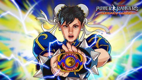 Chun Li devient officiellement membre des... Power Rangers dans un jeu