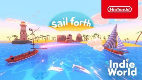 Indie World : Sail Forth hisse la grand-voile sur Nintendo Switch