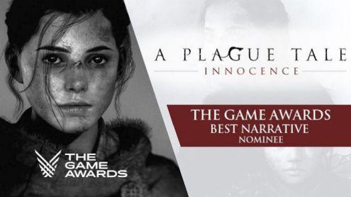 The Game Awards : A Plague Tale Innocence montre une vidéo avant la cérémonie