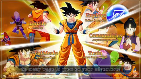 Dragon Ball Z Kakarot : Une bande-annonce consacrée à la progression des personnages