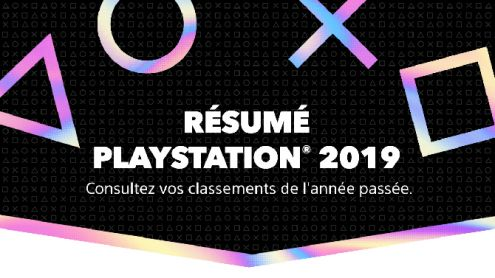 PlayStation dit tout sur vos habitudes de jeu en 2019 : temps de jeu, titres préférés, Trophées, etc.