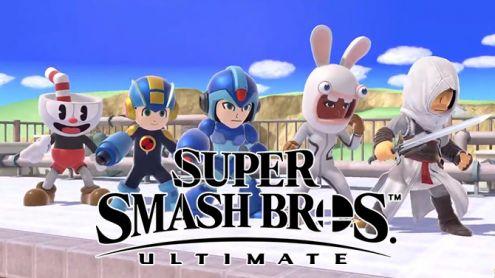 Super Smash Bros. Ultimate dévoile de nouveaux costumes, avec Assassin's Creed et Mega Man