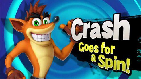 Smash Bros. Ultimate : Crash Bandicoot serait le prochain DLC annoncé selon le leaker de Byleth