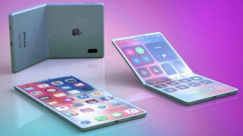 iPhone : Un smartphone pliable aussi en préparation ? Un brevet déposé en ce sens
