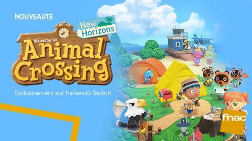 Animal Crossing New Horizons Switch se découvre à la Fnac