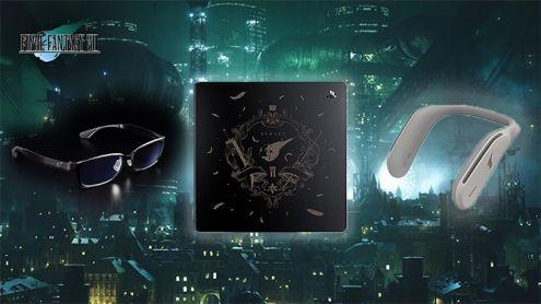 Final Fantasy VII Remake dégaine ses produits dérivés : coque PS4, casque et lunettes
