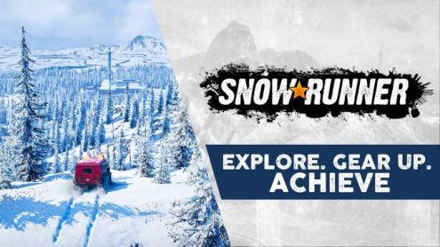 SnowRunner dévoile ses environnements à découvrir avec vos grosses machines