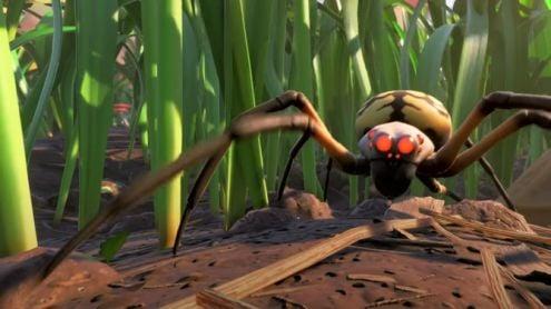 Grounded : Obisidian pense aux arachnophobes