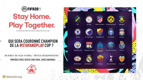 Coronavirus : EA Sports annonce un tournoi caritatif sur FIFA 20 avec des footballeurs professionnels