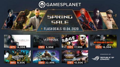 Gamesplanet lance son Spring Sale, jusqu'à -94% sur des dizaines de jeux
