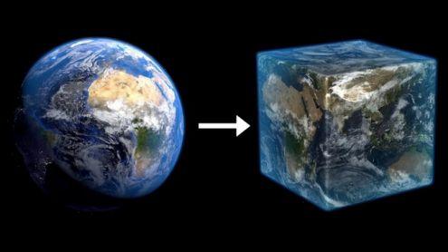 Minecraft : La Terre recréée à l'échelle 1:1 ? 100.000 joueurs y travaillent