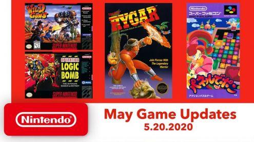 Nintendo Switch Online : Les quatre nouveaux jeux de mai 2020 s'annoncent en vidéo