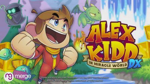 Alex Kidd de retour avec Miracle World DX, remake d'une légende de la Master System