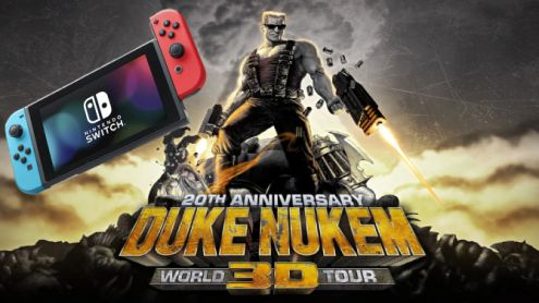 Duke Nukem 3D World Tour arrive sur Switch et joue la carte du motion gaming