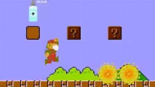 L'image du jour : Le 1er niveau de Super Mario Bros version Avion Covid-19