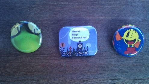 Des badges faits la maison 5 minutes douche comprise for Badge fait maison