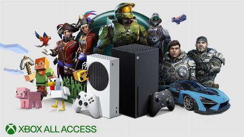 Xbox Series X : Microsoft précise le tarif français du Xbox All Access