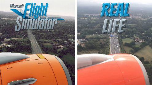 L'image du jour : Un énième comparatif époustouflant sur Flight Simulator
