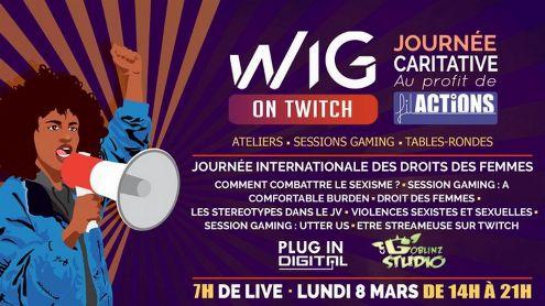 Journée Internationale des droits des femmes : Suivez le live caritatif de Women in Games France