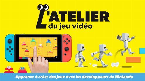 Nintendo annonce L'Atelier du Jeu Vido, le Dreams de la Switch