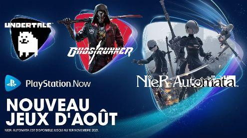 PlayStation Now : Les nouveautés d'août annoncées, 3 jeux sympas arrivent en streaming