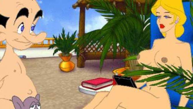 le screenshot d gueulasse du jour leisure suit larry 7 18 anti sexisme dans le jeu video. Black Bedroom Furniture Sets. Home Design Ideas