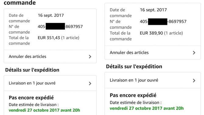 Amazon garantie prix
