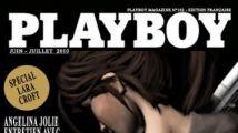 Lara Croft fait la couverture de Playboy !