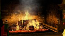 "My Fireplace : un jeu de ""feu de cheminée"" sur Wii"