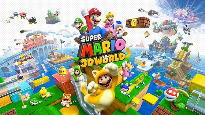 Test : Super Mario 3D World