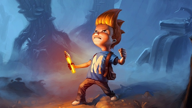 Test : Max : The Curse of Brotherhood (Xbox One)