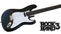 La vraie guitare Fender Stratocaster pour Rock Band 3 datée