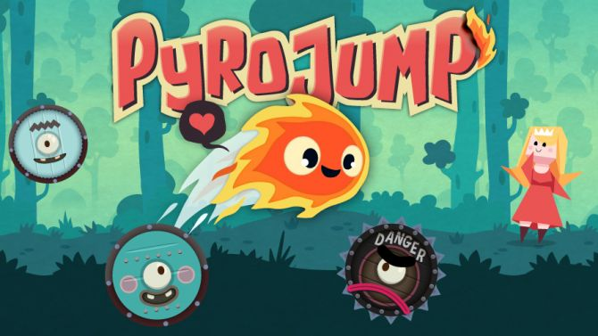 TEST. Pyro Jump (iPad, iPhone, iPod Touch, Android)