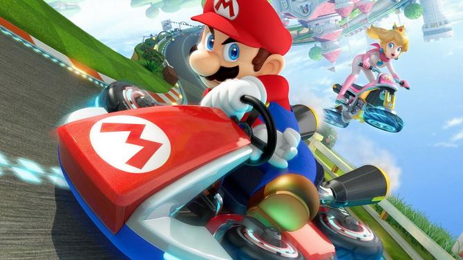 TEST. Mario Kart 8