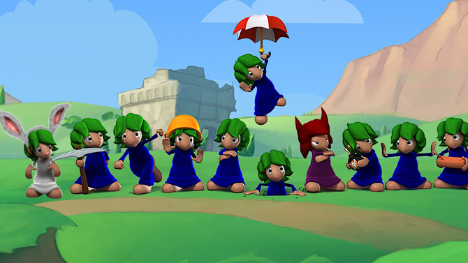 TEST. Lemmings Touch