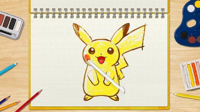 TEST. Pokémon Art Academy