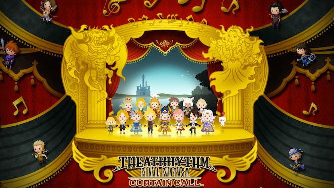 TEST. Theatrhythm Final Fantasy : Curtain Call