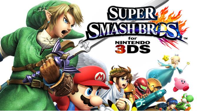 TEST. Super Smash Bros. (Wii U / 3DS) (Nintendo 3DS)
